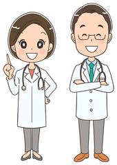ドクター(男女)のセット