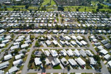 Trailer park homes in South Florida Davie
