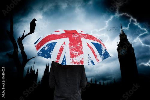 Super angleterre grande bretagne royaume uni londres parapluie drapeau  BZ92