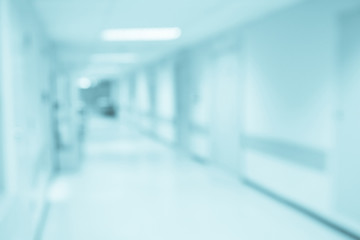 Abstract blur hospital corridor defocused Medical background