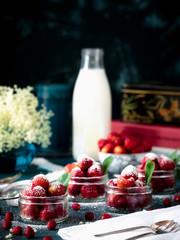 Erdbeer Stillleben No. 5