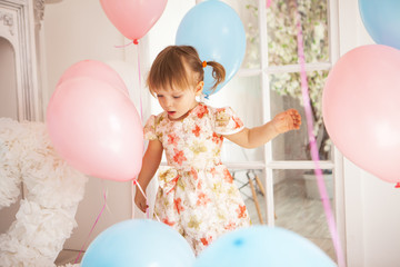 Birthday of little girl