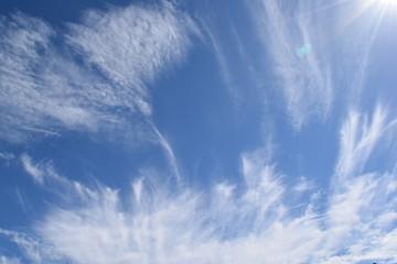 雲の表情 秋空と雲