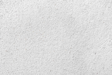 Close up clean white wall cement and sand texture backdrop background