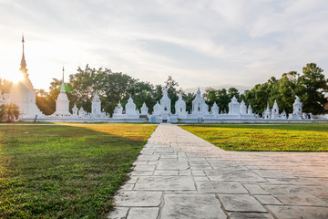 The path is leading to Gu Jao Luang, Chiangmai, Thailand