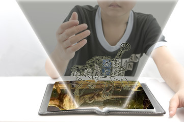 Learn about the world of dinosaurs