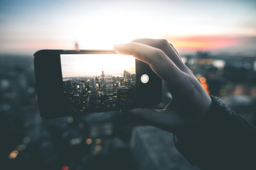 Smartphone Photography in Manhattan - New York