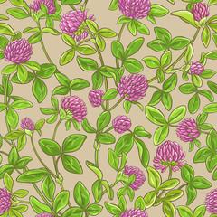clover vector pattern