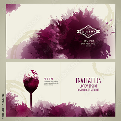 Invitation Template For Event Or Party Suitable Tasting Events