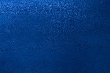 New painted blue paint steel sheet metal