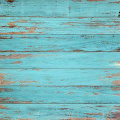 Vintage wood background with peeling paint.