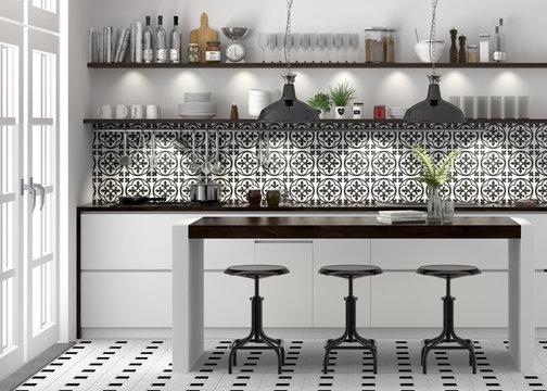 Küche Einbauküche Küchenzeile Kücheblock weiss