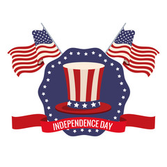 independence day USA celebration patriotic vector illustration eps 10
