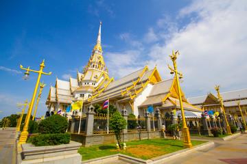 Wat Sothonwararam temple in Chachoengsao Province, Thailand