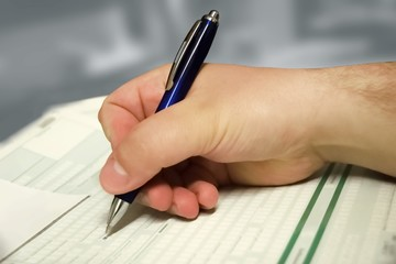 Steuererklärung / Formulare ausfüllen