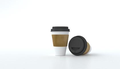 3D Rendering, Coffee cup.