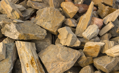 fine natural stone, mulch for landscaping, texture