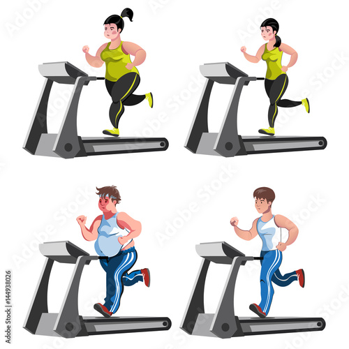 """""""Isolated Fitness Design Concept With Before And After"""