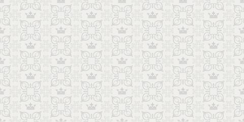 Interior design. Retro Seamless Pattern