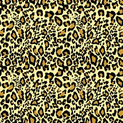 Golden leopard wallpaper