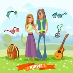 Subculture Hippie Composition
