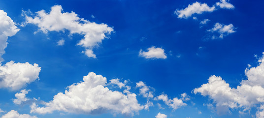 Beautiful sky with white cloud. sky gradient Background