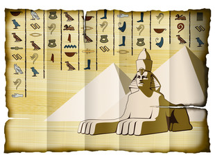 Scroll with the Sphinx.