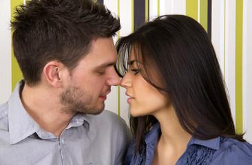 Attractive sensual couple.
