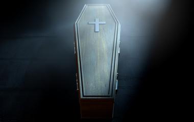 Cercueil noir
