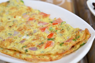 Masala omelette Indian style