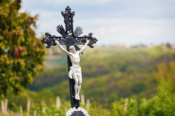 INRI nature, crucifixion Jesus The crucifixion of Jesus Christ as a symbol of God's love