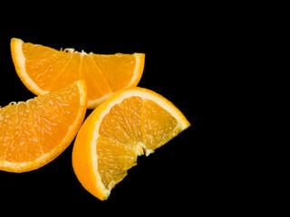 Juicy Fresh Fruit Orange Segments