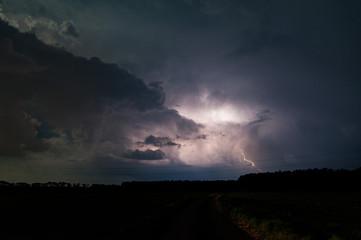 Gewitter in der Nacht