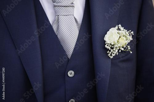 Fiore Matrimonio Uomo : Quot dettaglio di abito da sposo con evidenza giacca
