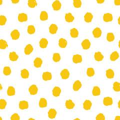 Wektorowy bezszwowy wzór w jaskrawych lato kolorach. Hipster, artystyczny, ilustracja. - 145004466