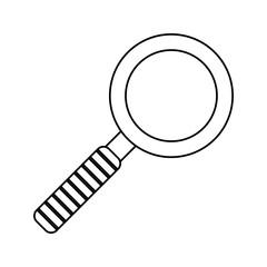 search innovation find outline vector illustration eps 10