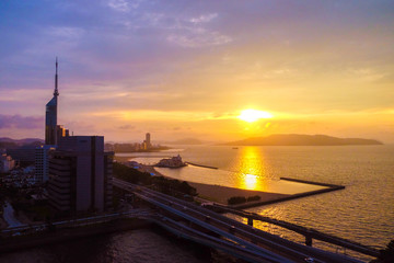 Fukuoka is the capital city of Fukuoka Prefecture, situated on the northern shore of the Japanese island of Kyushu. It is the most populous city on the island.