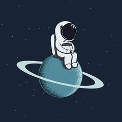 astronauts on saturn - photo #38