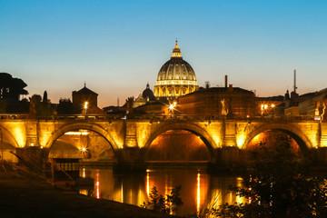The Basilica di San Pietro in Rome.