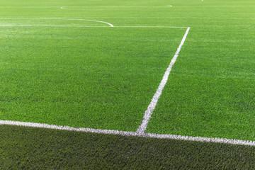 Soccer football field turf