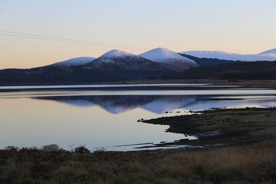 Loch Doon sunset