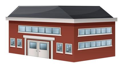 Building design for storage warehouse
