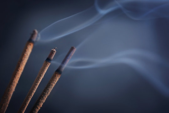 Aroma sticks with smoke