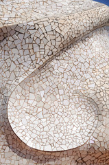 Mosaic Barcelona. Spain