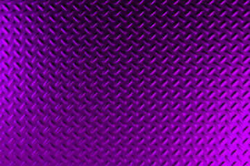 Violet dirty checkered steel plate