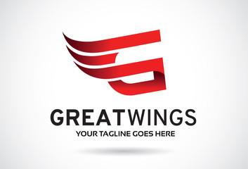 Letter G Logo Template Design Vector, Emblem, Design Concept, Creative Symbol, Icon