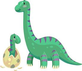 Dino Brontosaurus Baby