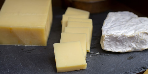 sliced of cheese