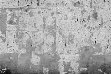 Fotobehang Oude vuile getextureerde muur Metal texture with scratches and cracks