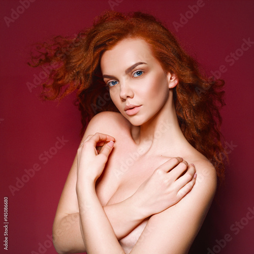 Redhead blaze nude